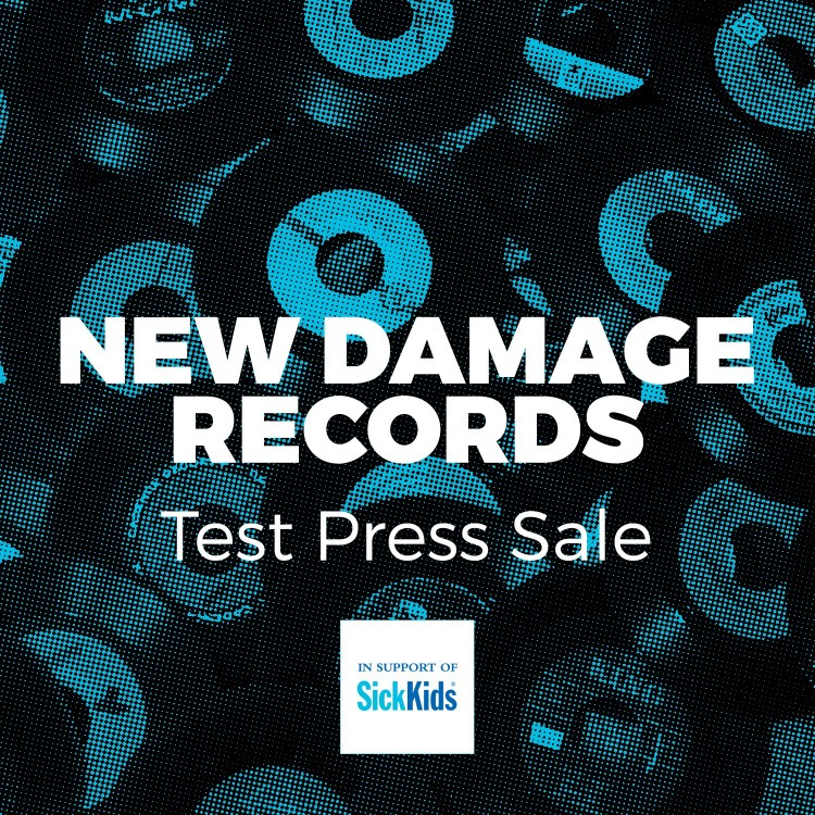 New Damage Test Press charity sale