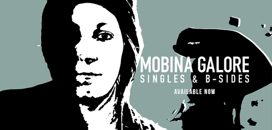 Mobina Galore sign to New Damage!! 'Singles & B-Sides' Out Now
