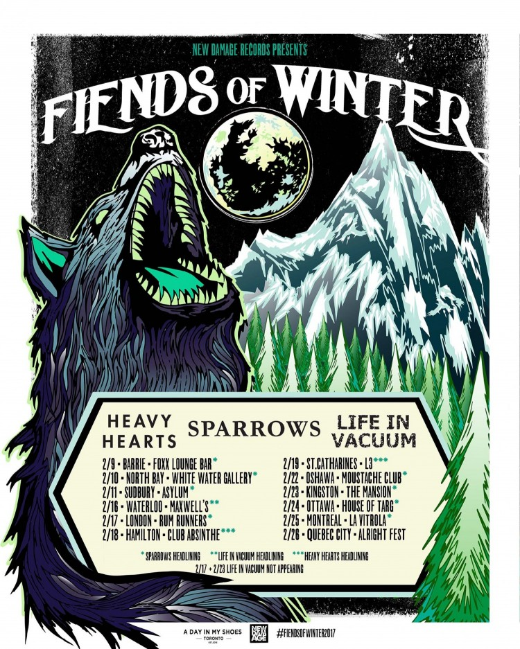 Fiends of Winter Tour Announcement