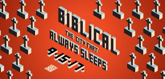 Biblical 'The City That Always Sleeps' Pre-order Available Now
