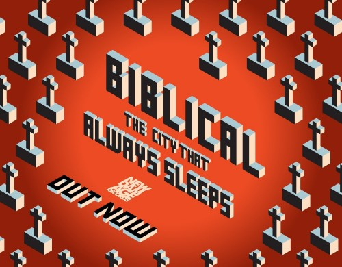 Biblical - 'The City That Always Sleeps' Out Now