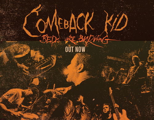Comeback Kid 'Bed's Are Burning / Little Soldier' 7