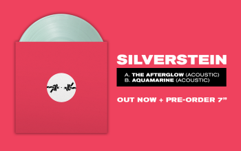 Silverstein 'The Afterglow / Aquamarine' pre-order 7