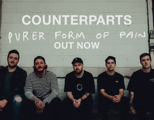 Counterparts drop two new singles 'Purer Form of Pain' and 'Strings of Separation'!