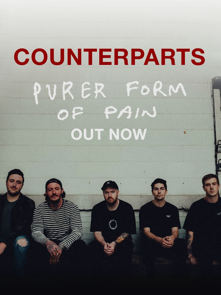 Counterparts share b-sides from critically acclaimed album 'Nothing Left To Love'